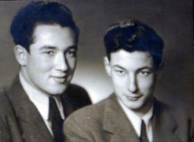 Hugo (vlevo) aRudy vroce 1946, foto: osobní archiv Hugo Maroma