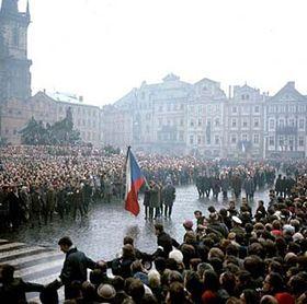 Adiós a Jan Palach, 25 de enero de 1969, foto: CTK