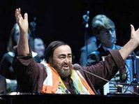 Luciano Pavarotti, photo: CTK