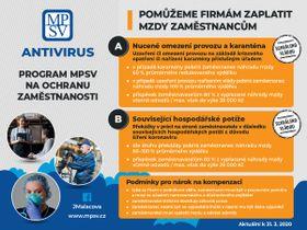 Hilfsprogramm Antivirus (Quelle: Archiv des tschechischen Arbeitsministeriums)