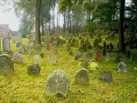 Le cimetière juif de Polná