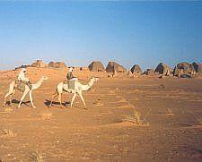 'Sous les pyramides de Nubie'