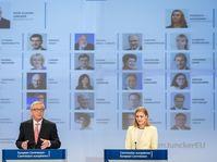 Jean-Claude Juncker presenta los comisarios nuevos, foto: ČTK