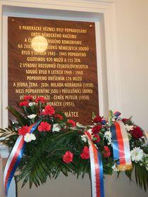 Pamětní deska obětem totality, foto: Martina Schneibergová