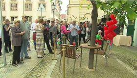 Sitzgruppe Havels (Foto: Tschechisches Fernsehen)