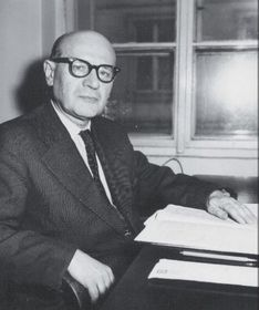 Josef Vachek, foto: archiv Univerzity Karlovy