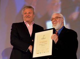 Winzer des Jahres 2014, Miroslav Volařík (links) aus Mikulov (Foto: ČTK)