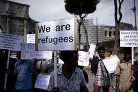 Inmigrantes de Eritrea, que presentaron solicitudes de asilo en Italia, foto: ČTK