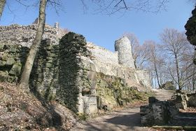 Zřícenina hradu Kumburk, foto: Petr1888, CC BY-SA 3.0 Unported