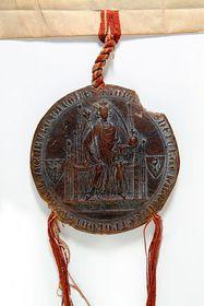 Siegel von König Johann von Böhmen