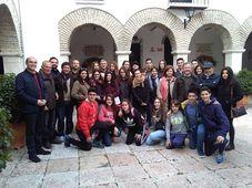Estudiantes checos en Cabra, foto: Fundación Aguilar y Eslava