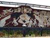 La fresque à Lidice, Mexique, photo: Archives d'Edna Gómez Ruiz