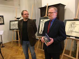 Václav Houfek (rechts). Foto: Gabriela Hauptvogelová, Archiv des Tschechischen Rundfunks