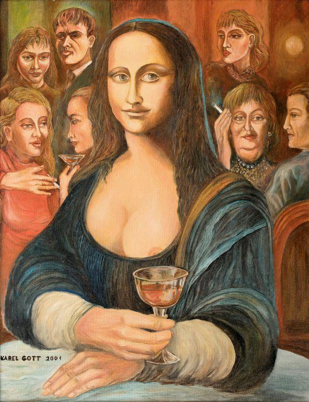 «Мона Лиза» К. Готта, фото: Galerie Kodl
