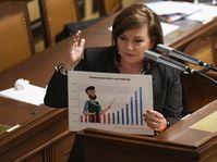 Alena Schillerová, foto: ČTK / Ondřej Deml