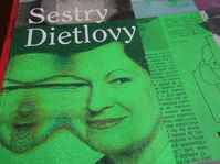 Photo: repro Vojtěch Mašek, 'Sestry Dietlovy' / Lipnik