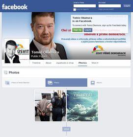 Tomio Okamura on Facebook