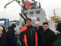 Tomáš Petříček, Pavel Klimkin, foto: Kateřina Ayzpurvit
