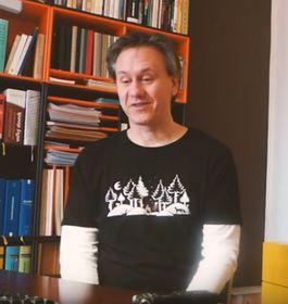 Mirko Kraetsch (Foto: YouTube Kanal des Verlags Voland & Quist)