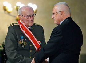 Václav Klaus et Jiří Zenáhlík, photo: CTK