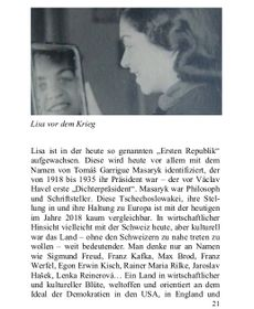 Lisa vor dem Krieg (Foto: Verlag Tredition)