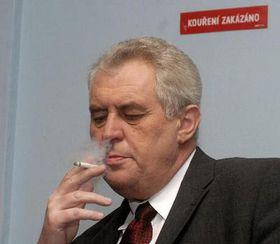 Milos Zeman (Foto: CTK)