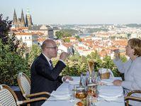 Bohuslav Sobotka et Angela Merkel, photo: ČTK