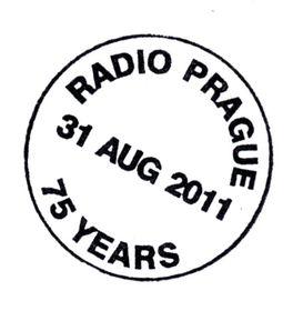 75 Aniversario de Radio Praga (sello)