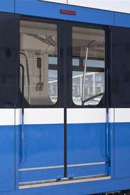 Состав метро «НеВа» на визуализации, Фото: архив Škoda Transportation