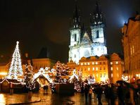 Christmas market on the Old Town Square