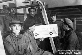 Чешские соотечественники в Украине, 30-е годы 20-го века, фото: Архив Мартина Окнехта