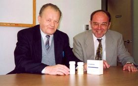 Antonín Holý, Erik De Clercq, photo: archive of Erik De Clercq
