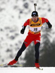 Český biatlonista Roman Dostál, foto: ČTK