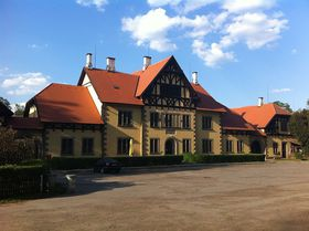 Hřebčín ve Slatiňanech, foto: Rry1975 / Creative Commons 3.0 Unported