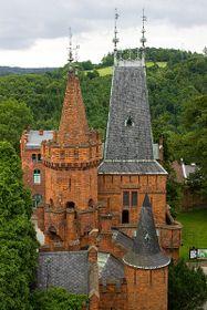 Castillo rojo de Hradec nad Moravicí, foto: Jan Valach, CC BY-SA 3.0 Unported