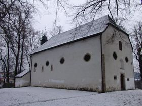 Church of John the Baptist, photo: Miloš Turek
