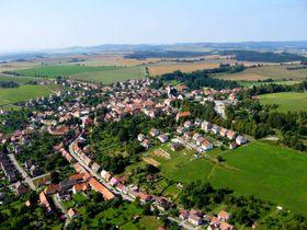 Obec Miličín, foto: Milicin.eu, Wikimedia Commons, CC BY-SA 4.0