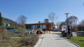 V novém altánu vOrnamentální zahradě bylo otevřeno bistro, foto: archiv Botanické zahrady hl. m. Prahy