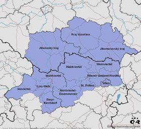 Quelle: EuroGeographics 2001, ÖIR-Informationsdienste