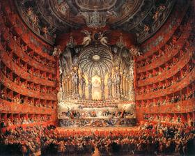Музыка эпохи барокко на картине Джованни Панини Festa musicale, Фото: открытый источник