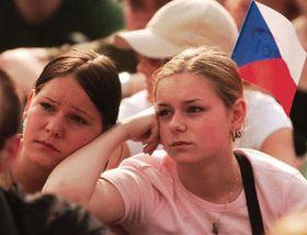 Zklamaní fanou¹ci, foto: ÈTK