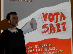 Juanjo Sáez, foto: Daniel Ordóñez / Archivo de Radio Praga
