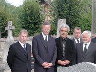 El funeral de Pavel Tigrid, foto: CTK