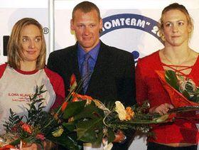 Zleva Ilona Hlaváčková, Květoslav Svoboda aJana Myšková, foto: ČTK