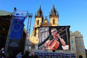 Día de Europa en Praga. Crédito de foto: Noelia Rojo