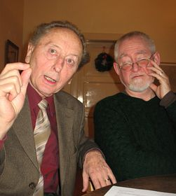Jakub Trojan, Gerry Turner (right), photo: David Vaughan