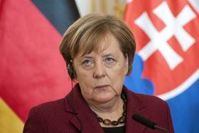Angela Merkel, foto: ČTK/Mikula Martin