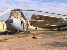 El helicóptero Mi-4 que utilizaba Sadam Husein, foto: ČT24