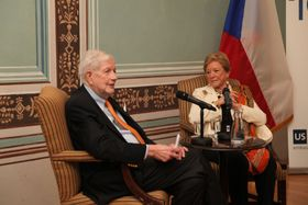 William and Wendy Luers, photo: archive of US embassy in Prague