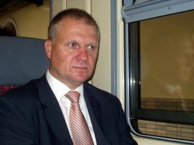 Náměstek generálního ředitele Českých drah Petr David, foto: Autor